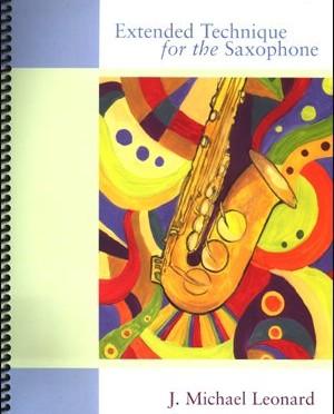 Böcker för att öva teknik och skalor på saxofon